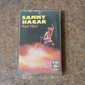"""Sammy Hagar """"Red Hot!"""" Cassette Tape"""